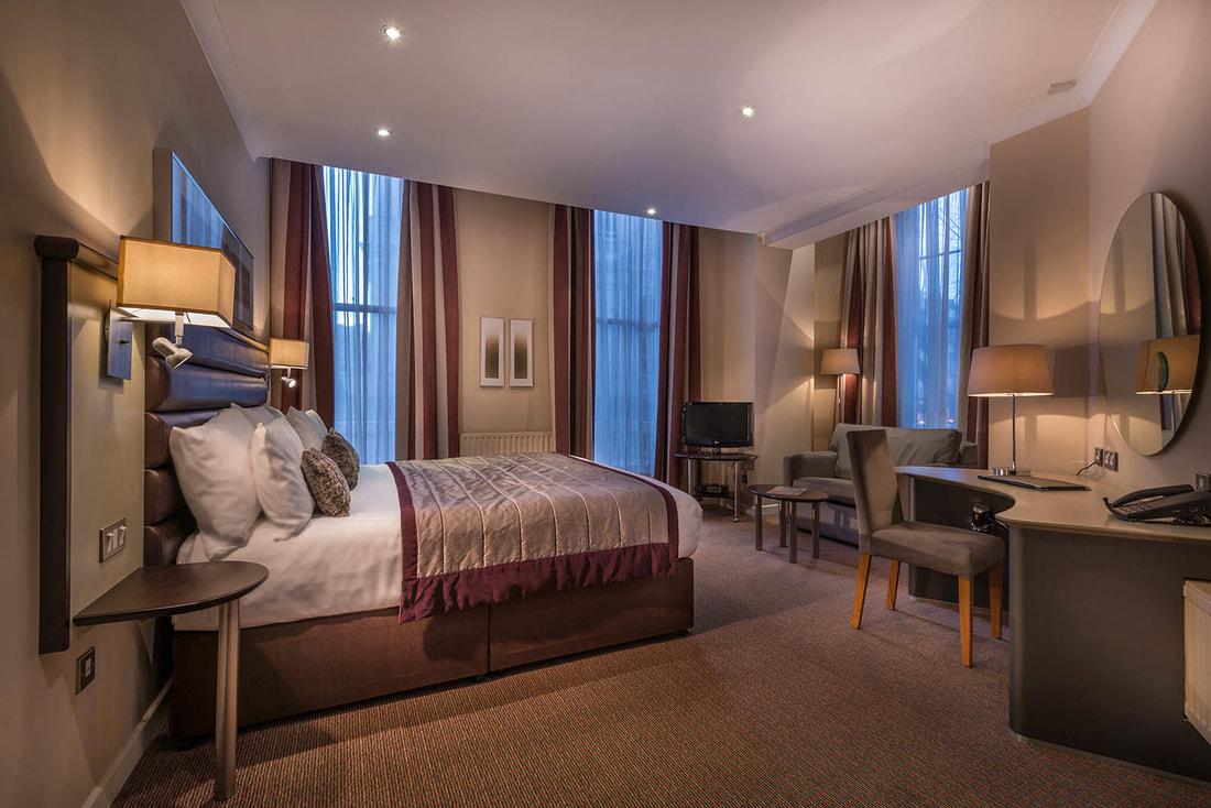 Corus Hotel Hyde Park room