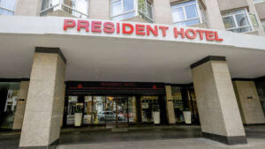 President hotel front