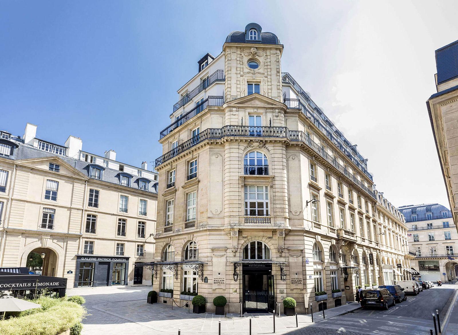 Paris - Grand Hotel du Palais Royal Paris - outside