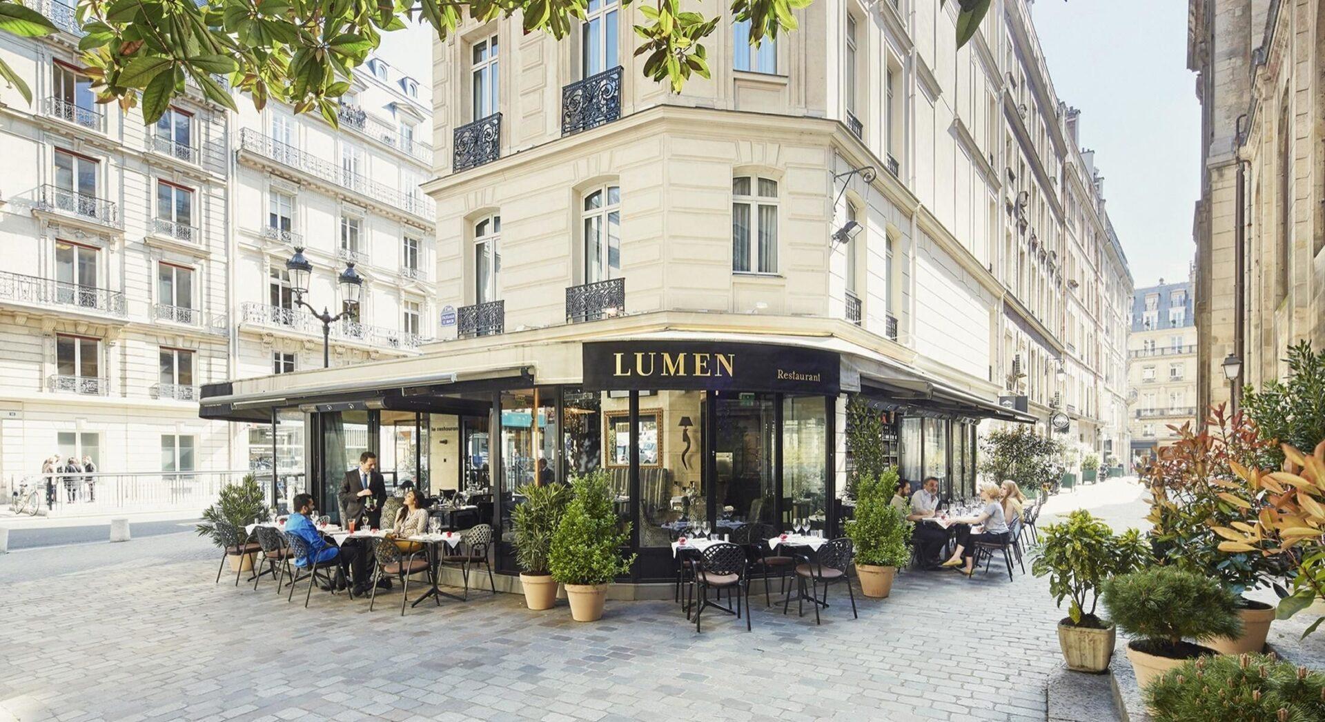 Paris - Hotel Lumen Paris Louvre - outside