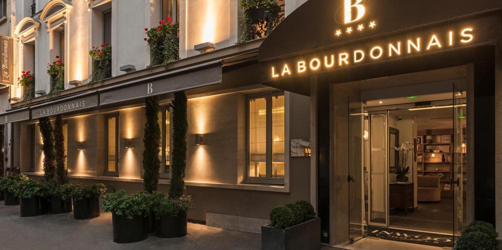 Paris - La Bourdonnais - outside