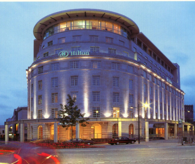 Cardiff - Hilton - outside