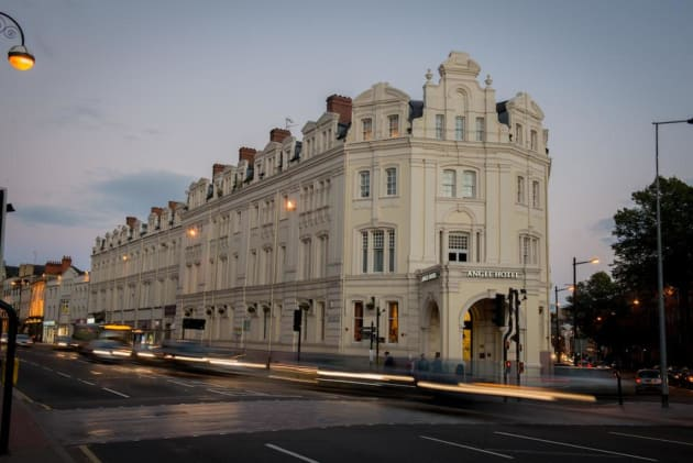 Cardiff - The Angel Hotel - outside